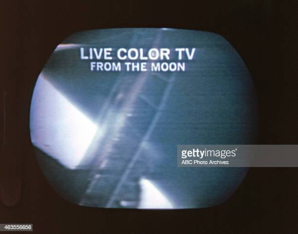 Walt Disney Television via Getty Images NEWS SPACE FLIGHTS Apollo 11 Coverage of First Manned Lunar Landing Live from the Moon Airdate July 20 1969...