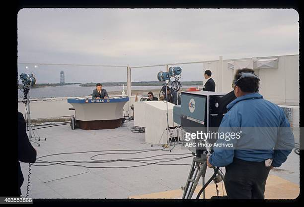 FLIGHTS Apollo 9 BehindtheScenes Launch Coverage from Cape Kennedy Airdate March 3 1969 JULES BERGMAN WITH