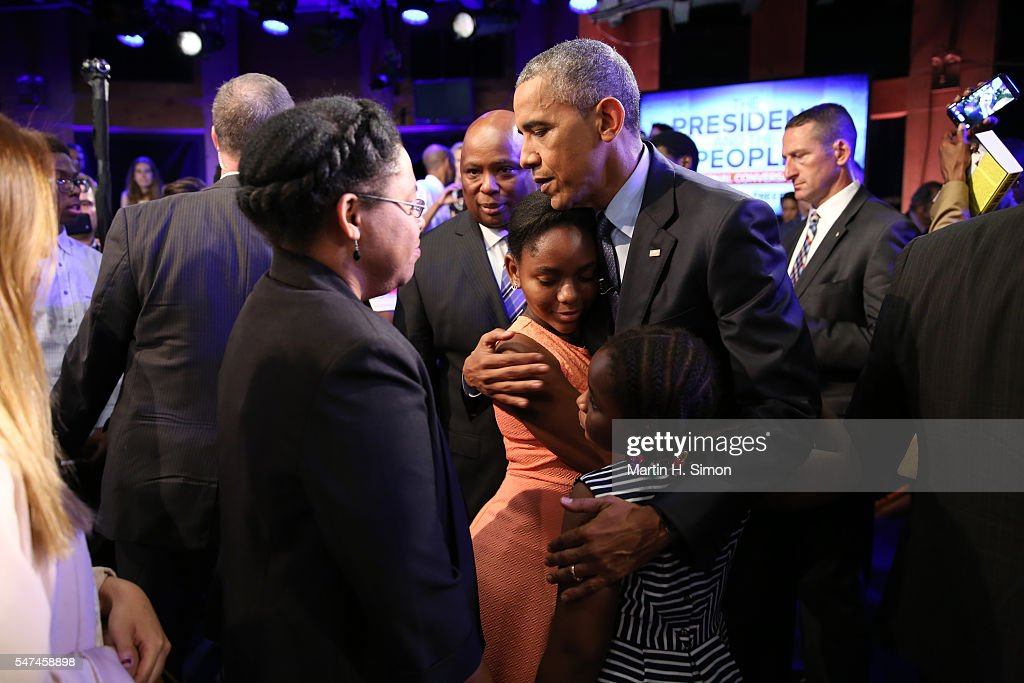 Disney Media Networks' Presentation of The President and The People: A National Conversation : News Photo