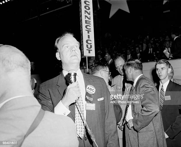 CONVENTION 8/13/56 Paul Harvey was on the convention floor during the 1956 Democratic Convention in Chicago Ill The 1956 presidental nominees were...