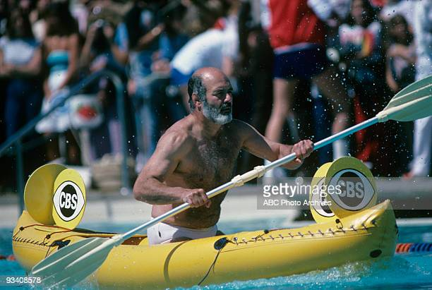 SPECIAL 'Battle of the Network Stars' 5/5/82 Pernell Roberts on the ABC Television Network competition 'Battle of the Network Stars'