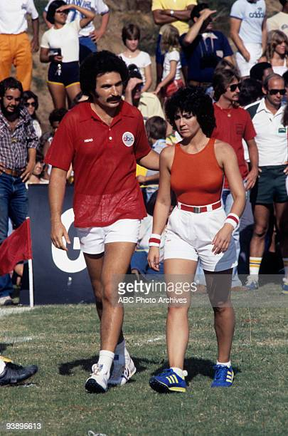 SPECIAL 'Battle of the Network Stars' 11/18/78 Gabe Kaplan Joyce Dewitt on the ABC Television Network competition 'Battle of the Network Stars'