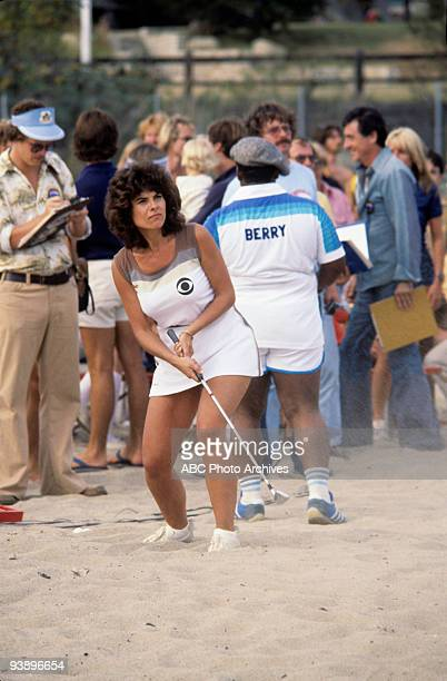 SPECIAL 'Battle of the Network Stars' 11/4/77 Adrienne Barbeau on the ABC Television Network competition 'Battle of the Network Stars'