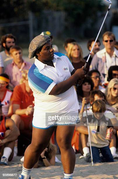 SPECIAL 'Battle of the Network Stars' 11/4/77 Fred Berry on the ABC Television Network competition 'Battle of the Network Stars'