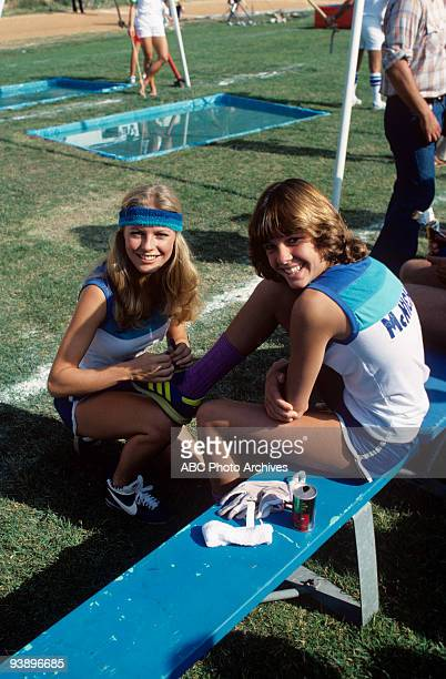 Walt Disney Television via Getty Images SPECIAL Battle of the Network Stars 11/4/77 Cheryl Ladd Kristy McNichol on the Walt Disney Television via...