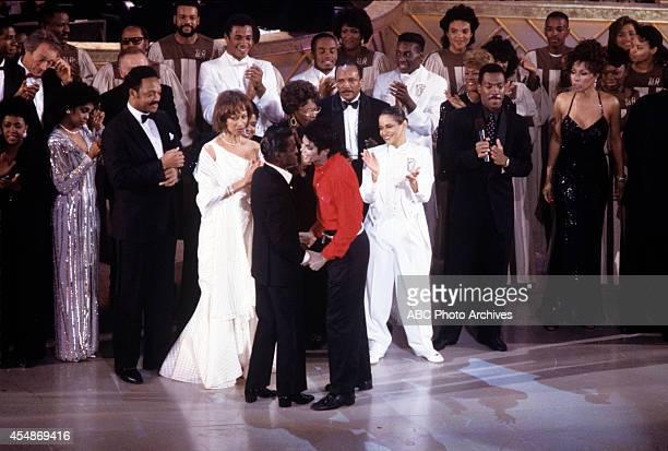 Walt Disney Television via Getty Images SPECIAL SAMMY DAVIS JR 60th ANNIVERSARY CELEBRATION Airdate February 4 1990 CARROLL