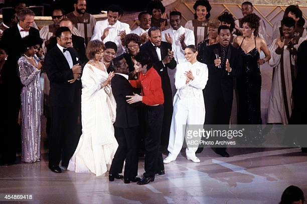 Walt Disney Television via Getty Images SPECIAL SAMMY DAVIS JR 60th ANNIVERSARY CELEBRATION Airdate February 4 1990 CARROLL