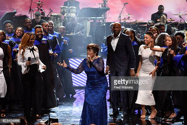 AMERICA a starstudded special commemorating the opening of the Smithsonian's new National Museum of African American History and Culture taped at the...