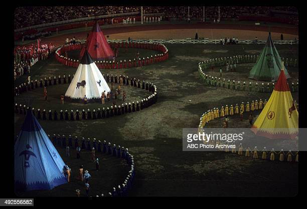 OLYMPICS The 1976 Summer Olympic Games aired on the ABC Television Network from July 17 to August 1 1976 Shoot Date August 1 1976 CLOSING