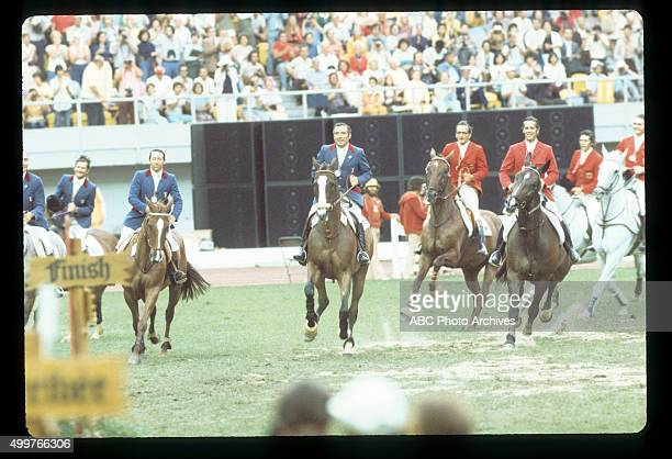 Walt Disney Television via Getty Images SPORTS 1976 SUMMER OLYMPICS Equestrian Events The 1976 Summer Olympic Games aired on the Walt Disney...