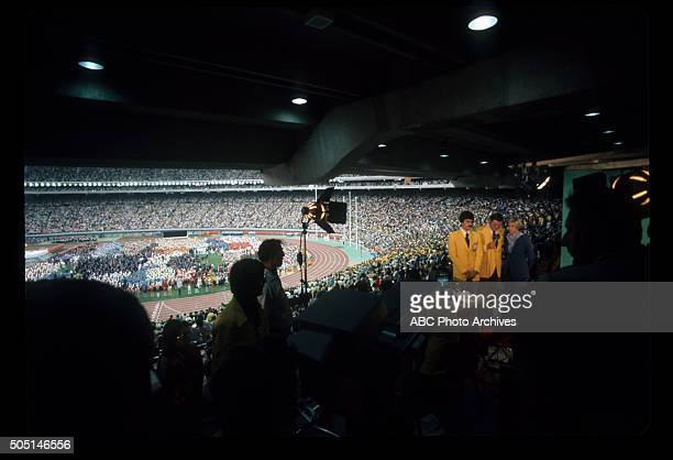 OLYMPICS BehindtheScenes Coverage The 1976 Summer Olympic Games aired on the ABC Television Network from July 17 to August 1 1976 MARK