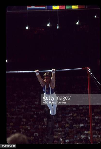 Walt Disney Television via Getty Images SPORTS 1976 SUMMER OLYMPICS Men's Gymnastics The 1976 Summer Olympic Games aired on the Walt Disney...