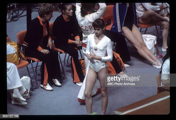 OLYMPICS Women's Gymnastics The 1976 Summer Olympic Games aired on the ABC Television Network from July 17 to August 1 1976 Shoot Date July 18 1976...
