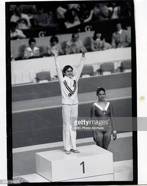 OLYMPICS Women's Gymnastics The 1976 Summer Olympic Games aired on the ABC Television Network from July 17 to August 1 1976 Shoot Date July 21 1976...