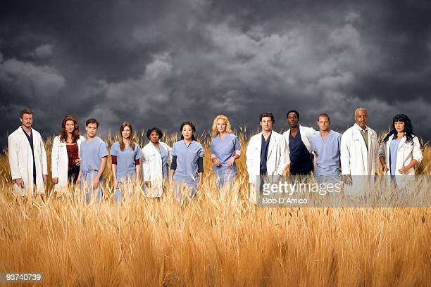 S ANATOMY Walt Disney Television via Getty Images Television Network's Grey's Anatomy stars Eric Dane as Mark Sloan Kate Walsh as Addison Shepherd TR...
