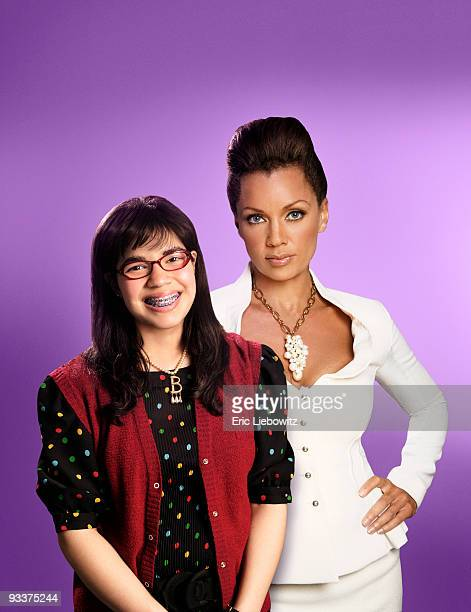 BETTY Walt Disney Television via Getty Images Television Network's Ugly Betty stars America Ferrera as Betty Suarez and Vanessa Williams as...