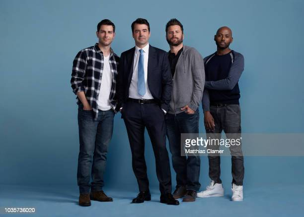 THINGS ABC's A Million Little Things stars David Giuntoli as Eddie Ron Livingston as Jon James Roday as Gary and Romany Malco as Rome