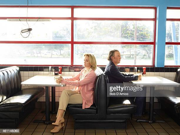 """Walt Disney Television via Getty Images's """"American Crime"""" stars Felicity Huffman as Barb Hanlon and Timothy Hutton as Russ Skokie."""