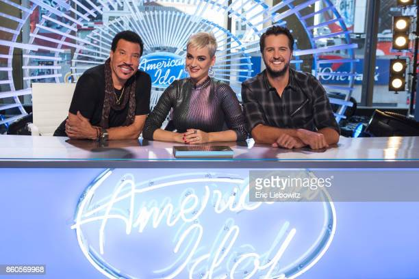 IDOL Walt Disney Television via Getty Images's American Idol judges Lionel Richie Katy Perry and Luke Bryan