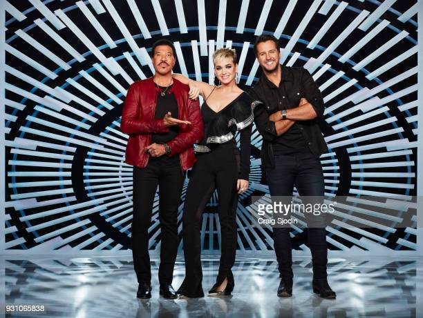 IDOL ABC's 'American Idol' judges Lionel Richie Katy Perry and Luke Bryan