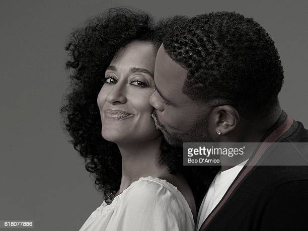 ISH ABC's 'blackish' stars Tracee Ellis Ross as Rainbow Johnson and Anthony Anderson as Andre 'Dre' Johnson