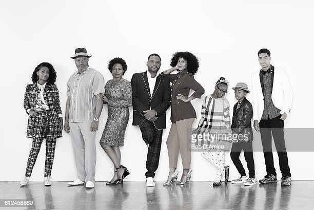ISH ABC's 'blackish' stars Yara Shahidi as Zoey Johnson Laurence Fishburne as Pops Johnson Jenifer Lewis as Ruby Johnson Anthony Anderson as Andre...