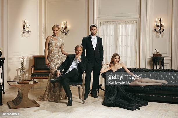 BLOOD OIL ABC's Blood Oil stars Amber Valletta as Carla Briggs Don Johnson as Hap Briggs Chace Crawford as Billy Lefever and Rebecca Rittenhouse as...