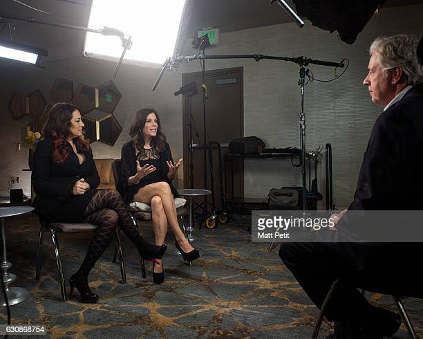 AMERICA ABC's Chris Connelly sits down exclusively with Joely and Tricia Fisher sisters of the late Carrie Fisher The interview airs Tuesday January...