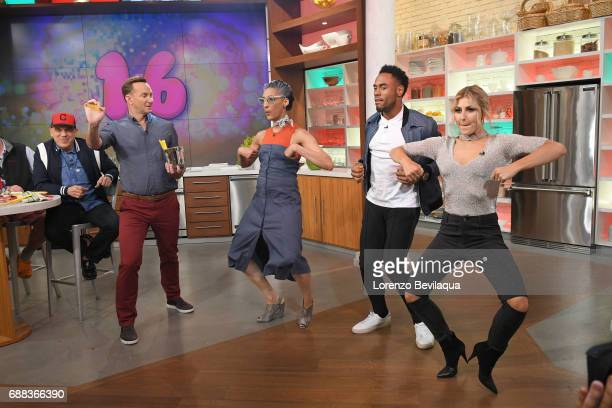 THE CHEW ABC's 'Dancing with the Stars' winners Rashad Jennings and his partner Emma Slater are the guests Friday May 26 2017 on ABC's 'The Chew'...