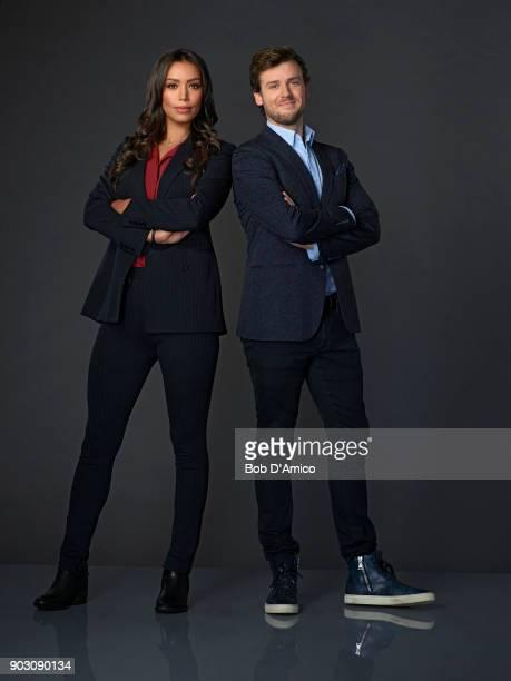 DECEPTION Walt Disney Television via Getty Images's Deception stars Ilfenesh Hadera as Kay Daniels and Jack CutmoreScott as Cameron Black/Jonathan...