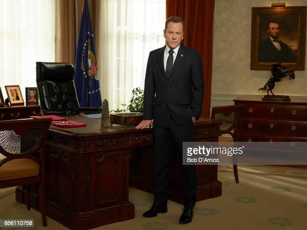 SURVIVOR Walt Disney Television via Getty Images's Designated Survivor stars Kiefer Sutherland as Tom Kirkman
