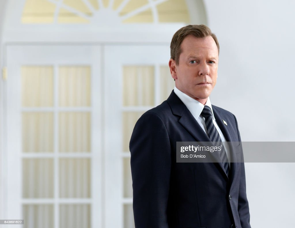 SURVIVOR - ABC's 'Designated Survivor' stars Kiefer Sutherland as Tom Kirkman.