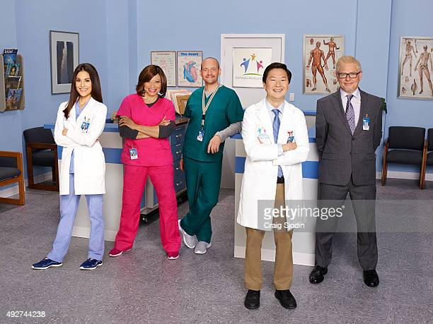 DR KEN ABC's 'Dr Ken' stars Kate Simses as Julie Tisha Campbell Martin as Damona Jonathan Slavin as Clark Ken Jeong as Dr Ken and Dave Foley as Pat
