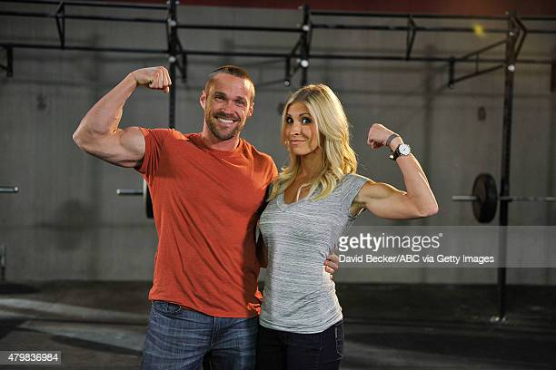 LOSS ABC's 'Extreme Weight Loss' stars transformation specialists and trainers Chris Powell and Heidi Powell