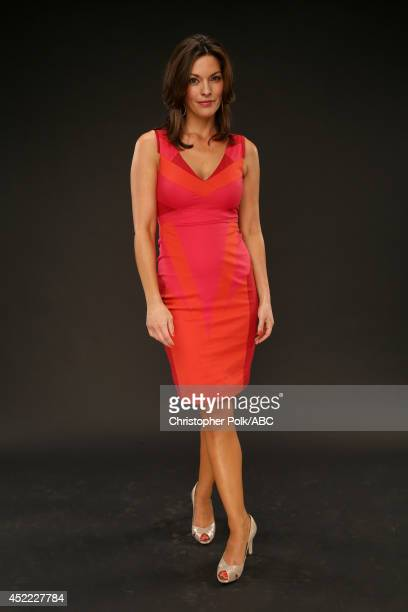 ABC's 'Forever' actress Alana De La Garza poses for a portrait during ABC's 2014 TCA summer press tour at The Beverly Hilton Hotel on July 15 2014 in...