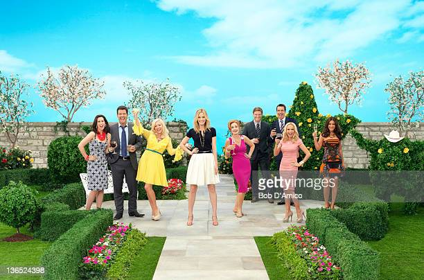 GCB ABC's 'GCB' stars Miriam Shor as Cricket CaruthReilly Mark Deklin as Blake Reilly Jennifer Aspen as Sharon Peacham Leslie Bibb as Amanda Vaughn...