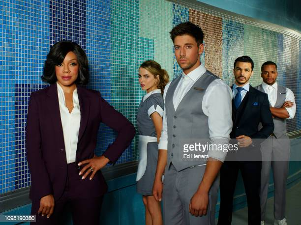 HOTEL ABC's 'Grand Hotel' stars Wendy Raquel Robinson as Mrs P Anne Winters as Ingrid Lincoln Younes as Danny Shalim Ortiz as Mateo and Chris Warren...