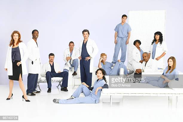 S ANATOMY ABC's 'Grey's Anatomy' stars Kate Walsh as Addison Shepherd Isaiah Washington as Preston Burke Eric Dane as Mark Sloan Justin Chambers as...