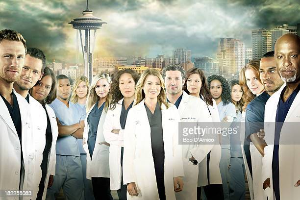 S ANATOMY ABC's 'Grey's Anatomy' stars Kevin McKidd as Owen Hunt Justin Chambers as Alex Karev Chandra Wilson as Miranda Bailey Gaius Charles as...