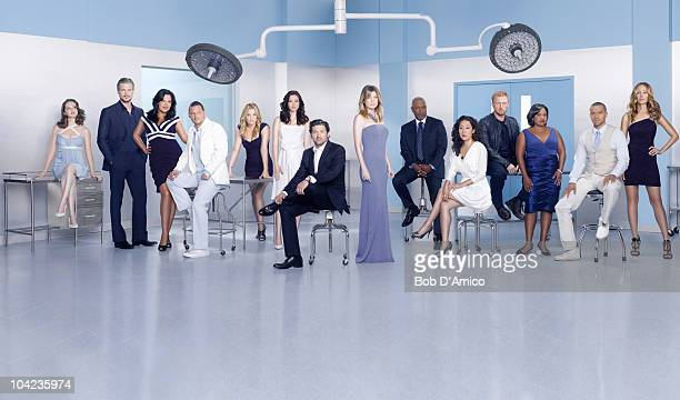 S ANATOMY ABC's 'Grey's Anatomy' stars Sarah Drew as April Kepner Eric Dane as Mark Sloan Sara Ramirez as Callie Torres Justin Chambers as Alex Karev...