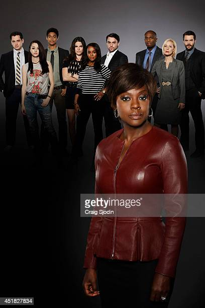 MURDER Walt Disney Television via Getty Images's How to Get Away with Murder stars Viola Davis as Professor Annalise Keating Billy Brown as Nate...