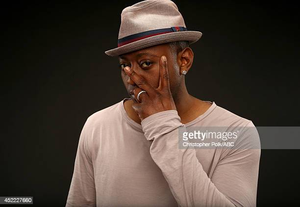 ABC's 'How to Get Away with Murder' actor Omar Epps poses for a portrait during ABC's 2014 TCA summer press tour at The Beverly Hilton Hotel on July...