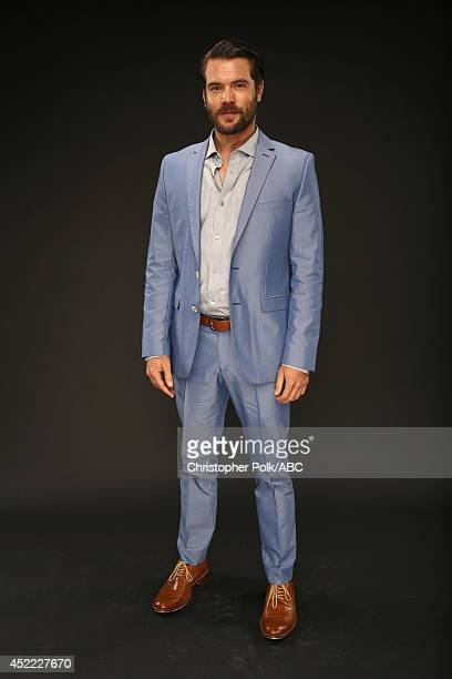 ABC's 'How to Get Away with Murder' actor Charlie Weber poses for a portrait during ABC's 2014 TCA summer press tour at The Beverly Hilton Hotel on...