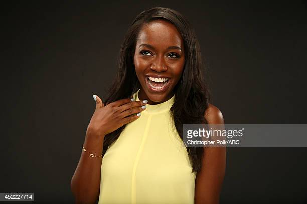 Walt Disney Television via Getty Images's 'How to Get Away with Murder' actress Aja Naomi King poses for a portrait during Walt Disney Television via...