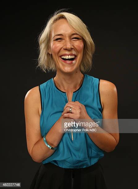 ABC's 'How to Get Away with Murder' actress Liza Weil poses for a portrait during ABC's 2014 TCA summer press tour at The Beverly Hilton Hotel on...
