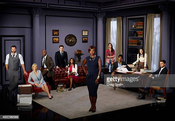 MURDER Walt Disney Television via Getty Images's How to Get Away with Murder Charlie Weber as Frank Delfino Liza Weil as Bonnie Winterbottom Billy...