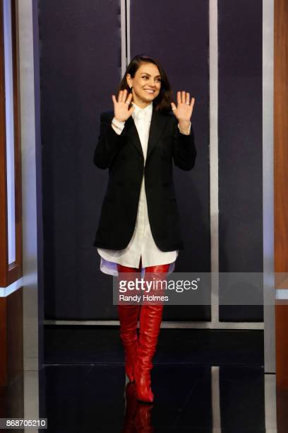 LIVE Walt Disney Television via Getty Images's Jimmy Kimmel Live features a week of guest hosts filling in for Jimmy starting Monday October 30 The...
