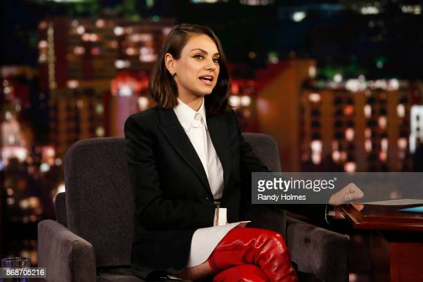 LIVE ABC's Jimmy Kimmel Live features a week of guest hosts filling in for Jimmy starting Monday October 30 The guest host for Monday October 30 was...