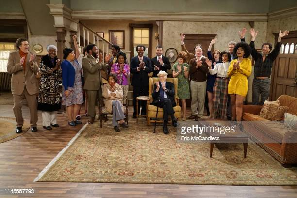 S 'ALL IN THE FAMILY' AND 'THE JEFFERSONS' Walt Disney Television via Getty Images's latenight host Jimmy Kimmel presents a live 90minute primetime...