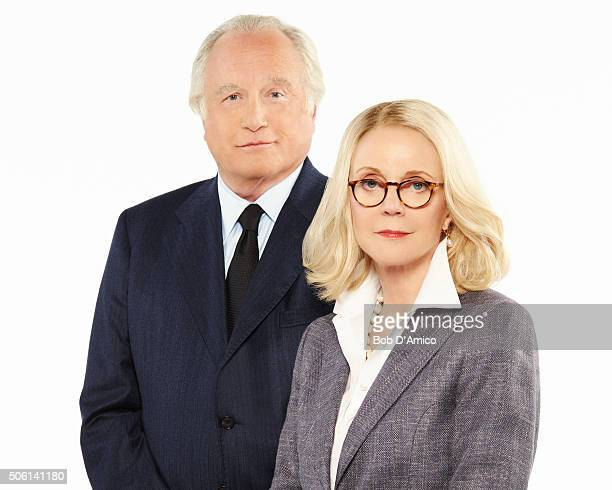 MADOFF Walt Disney Television via Getty Images's Madoff stars Richard Dreyfuss as Bernie Madoff and Blythe Danner as Ruth Madoff